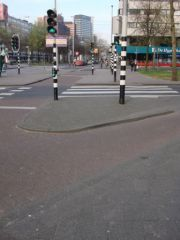 Intersection à Rotterdam
